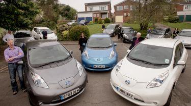 竞选人员说,政府应该在汽车制造商上放置15%的EV配额