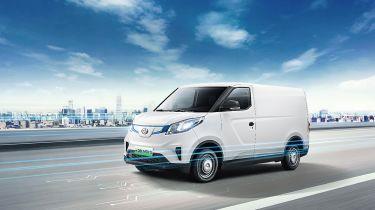 新的2020 MAXUS E提供3个全电动机面板推出