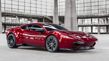 ARES设计揭示了Panther Progettouno Supercar,641bhp