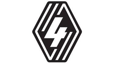 新的雷诺4徽章提示在下一个雷诺图标复兴