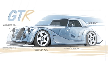 New Limited Edition Morgan Plus 8 GTR项目透露