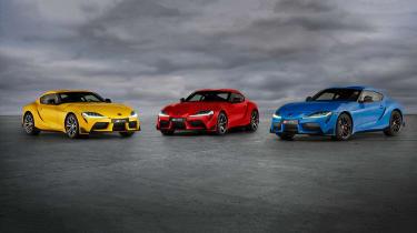 新的丰田GR贾拉马赛马赛赛道版推出