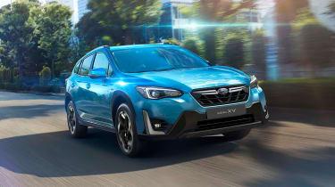 Subaru XV SUV为2021年获得了一整形面