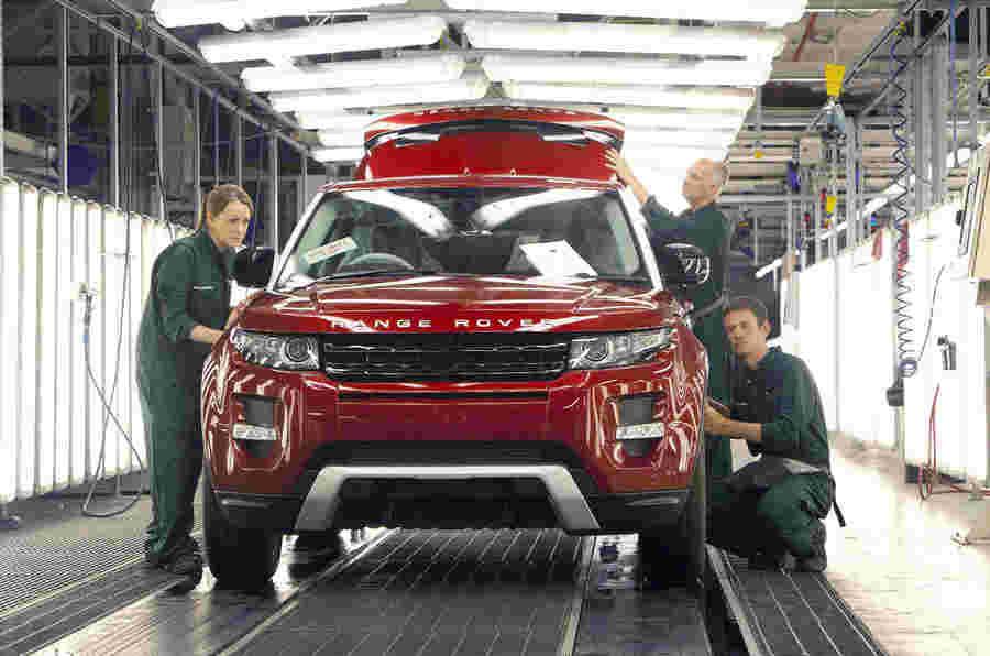 JLR的Halewood工厂进入24小时生产