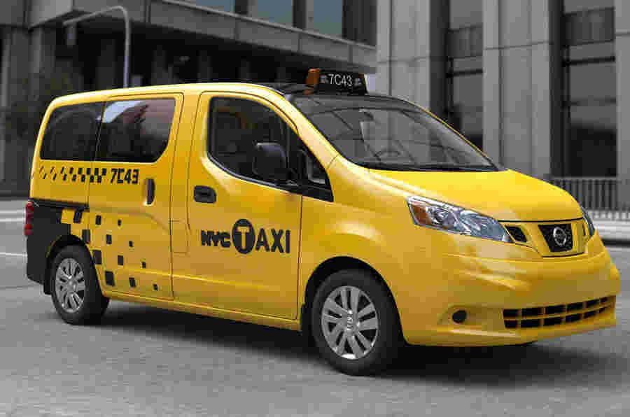 纽约电机展2012:日产纽约出租车揭晓