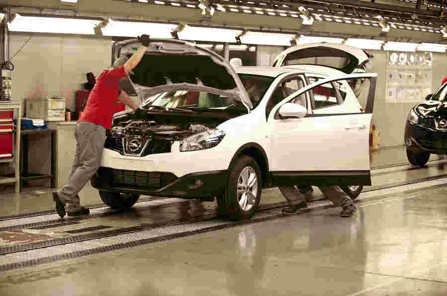 英国的新车产量正在上升