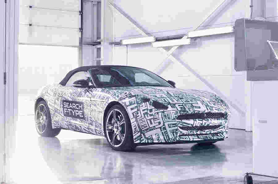纽约展示:Jaguar F型
