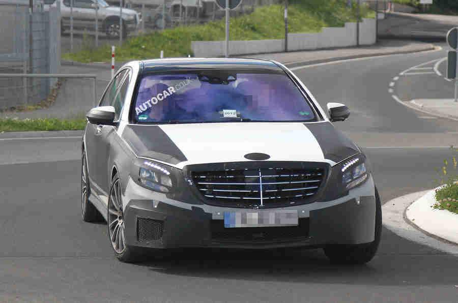 梅赛德斯S-Class  - 最新的Scoop图像