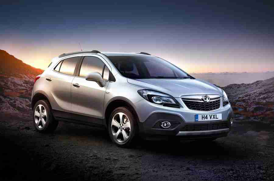 Vauxhall Mokka旨在为公司开展公司