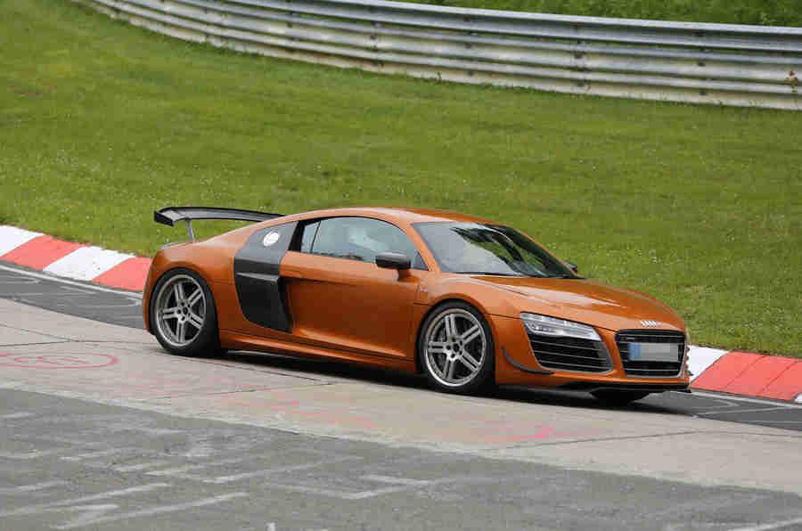 修订了奥迪R8 GT为Le Mans揭示
