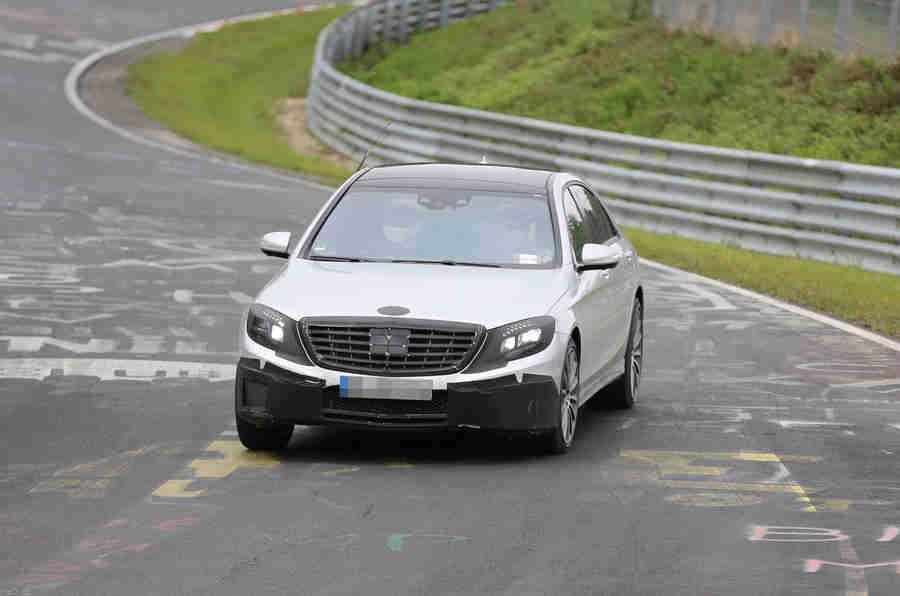 梅赛德斯 - 奔驰S63 AMG  - 最新间谍镜头