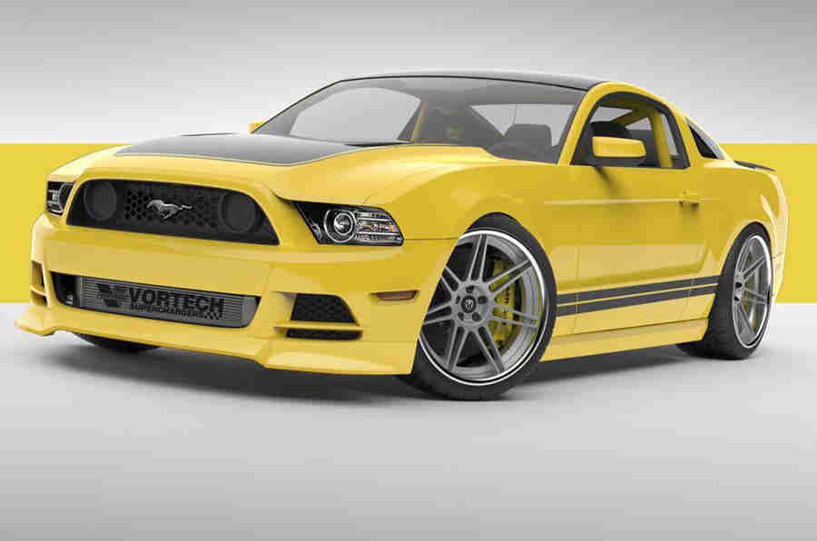 597BHP Mustang在Sema展会上发布