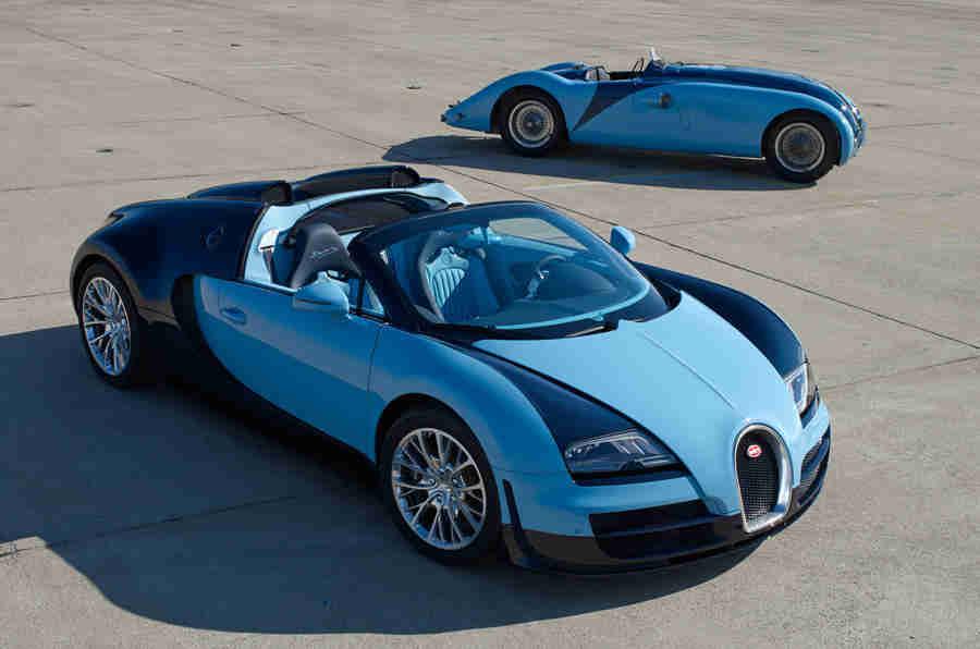 Bugatti Veyron 16.4 Grand Sport Vitesse Legend Jean-Pierre Wimille透露