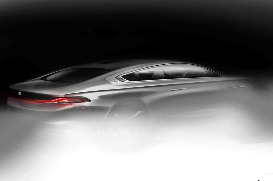 BMW预览Grand LussoCoupéPininfarina概念