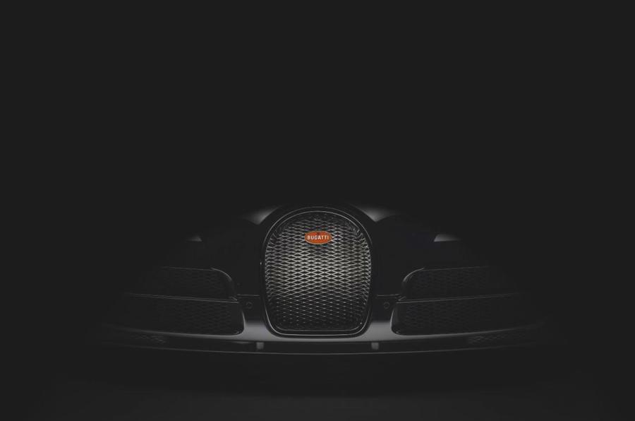 新的Bugatti威龙特别版戏弄