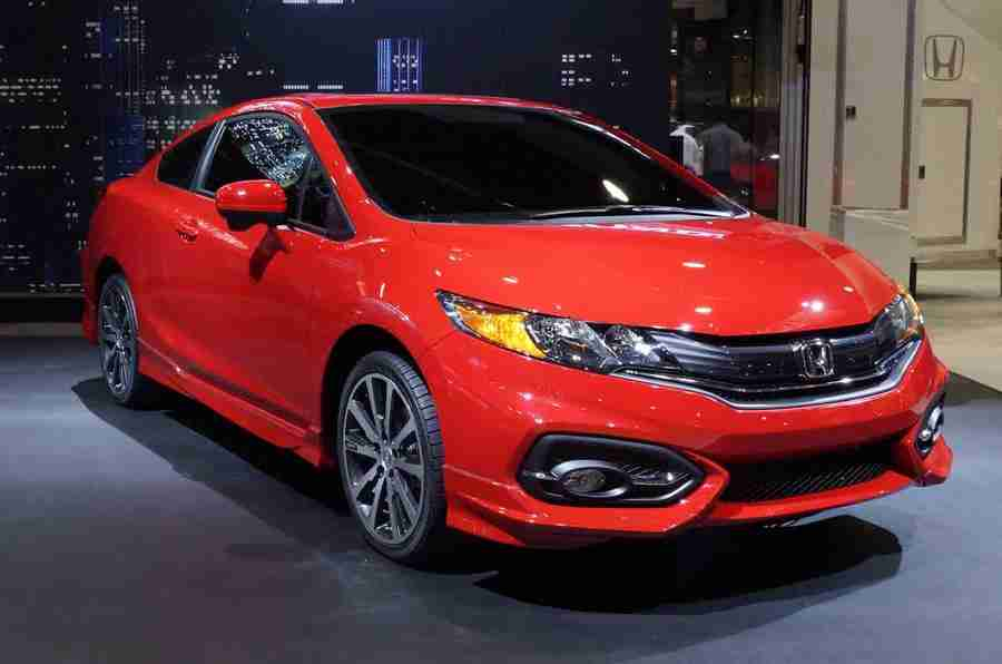 2014 HONDA Civic Coupe获得了Sema的世界首次亮相