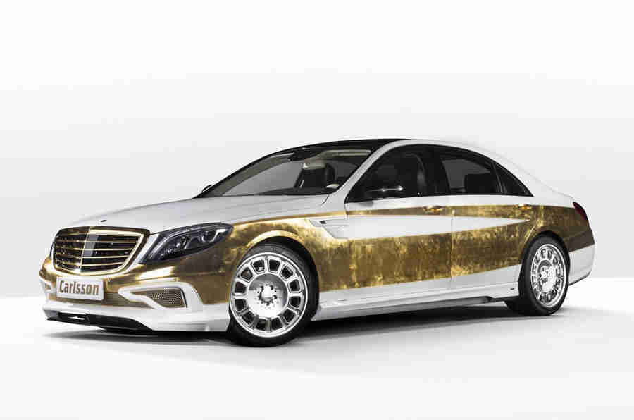 日内瓦快速新闻:金叶覆盖的S级; VW Amarok V8