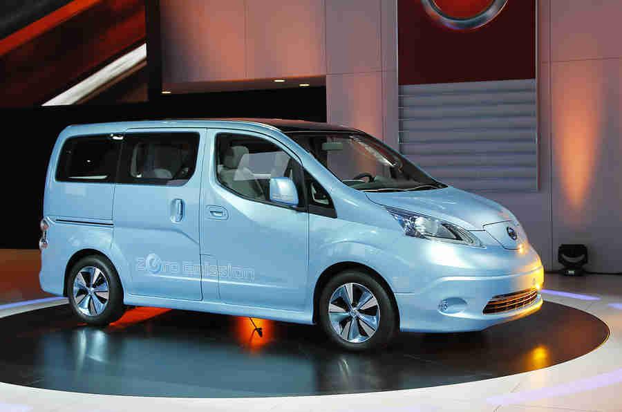 电动日产E-NV200面包车在5月份出售