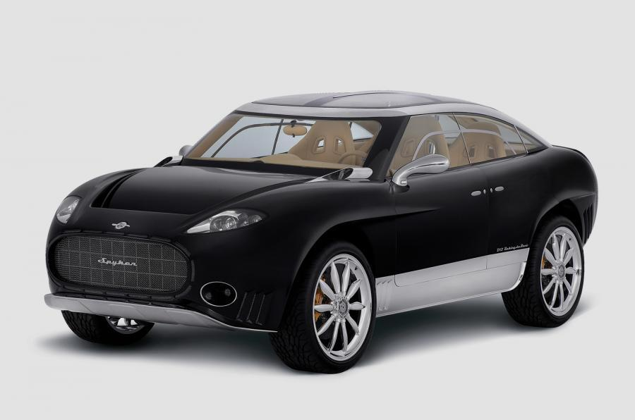 Spyker开发2017年的全电动SUV