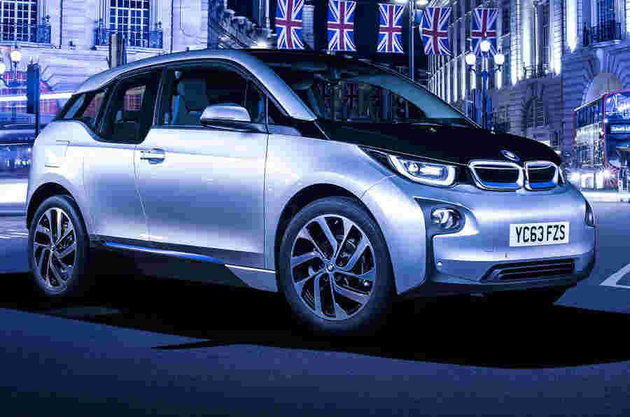 BMW I3系列由新电池提升