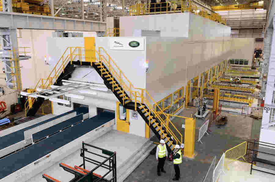 捷豹土地罗孚在哈利伍德厂投资4500万英镑