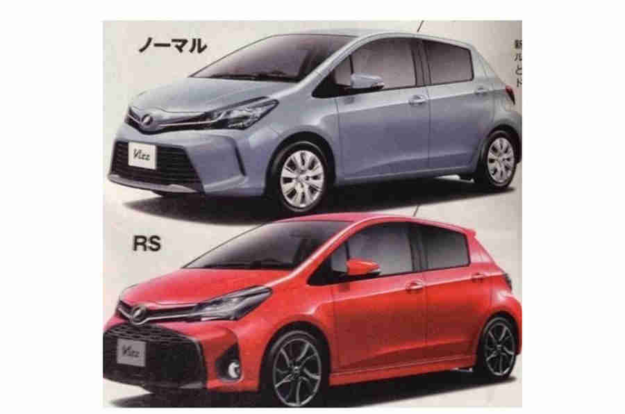 Fackifted Toyota Yaris图片在线泄露