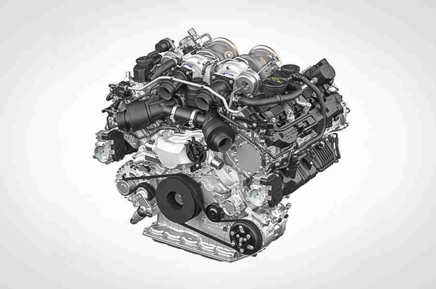 保时捷揭示了新的542bhp v8汽油发动机