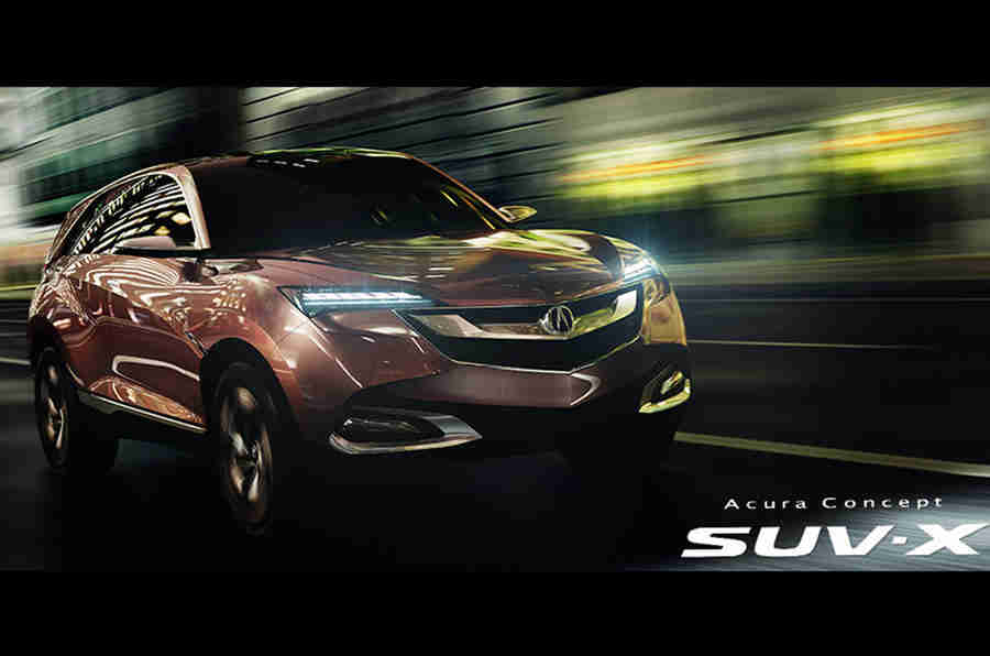Acura CDX Crossover使北京首次亮相
