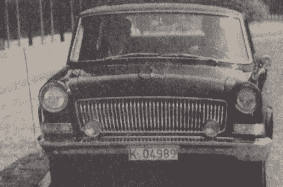 星期四回落:1975年测试中国政府的豪华豪华轿车