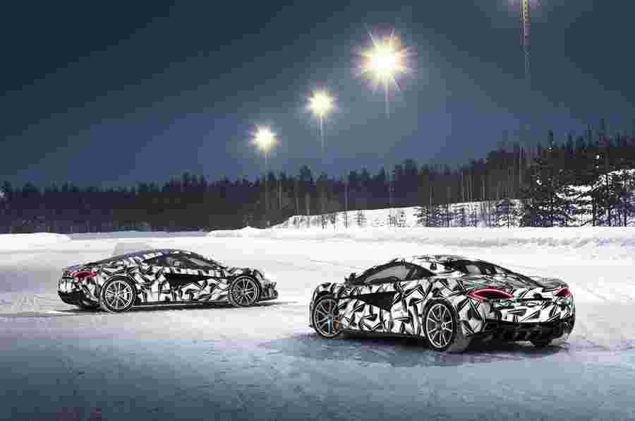 迈凯轮570s冰驾驶经验在今年冬天在芬兰开放