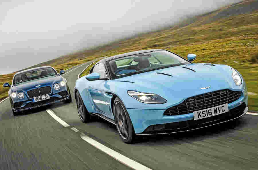 Aston Martin DB11 VS Bentley Continental GT Speed  -  Grand Tourers比较