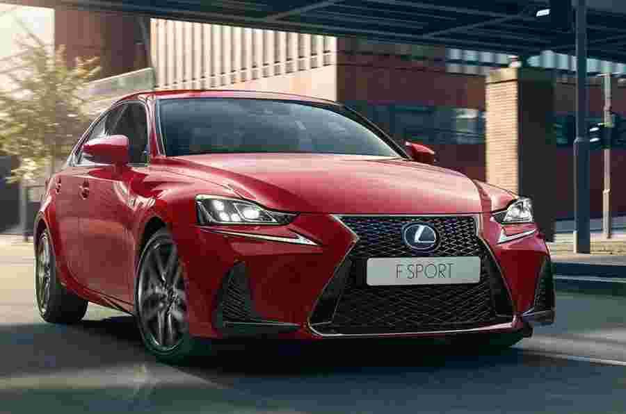 Facelifted Lexus是在巴黎显示的