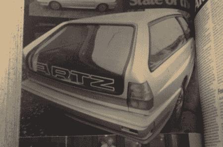 星期四回落:德国调谐器的奥迪Quattro庄园和奥迪80衍生的Quattro Foor-门