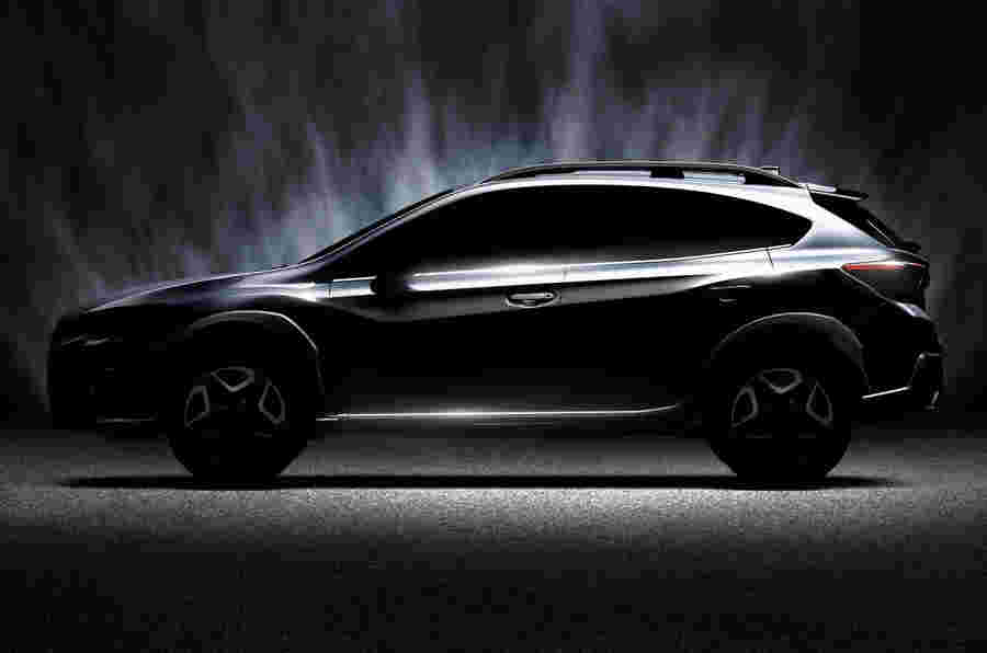 2017年Subaru XV为日内瓦电机显示首次亮相