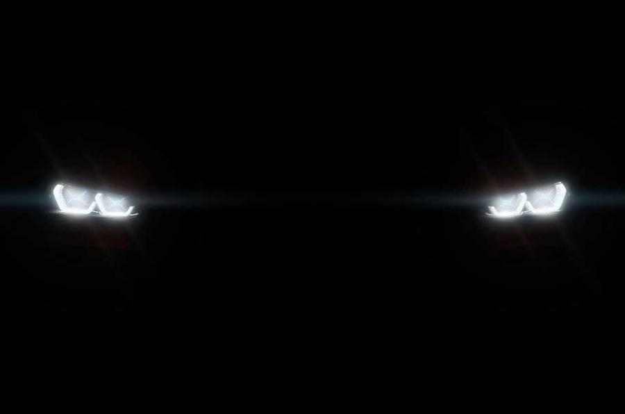 2017年BMW X2在巴黎汽车展示前戏弄亮相
