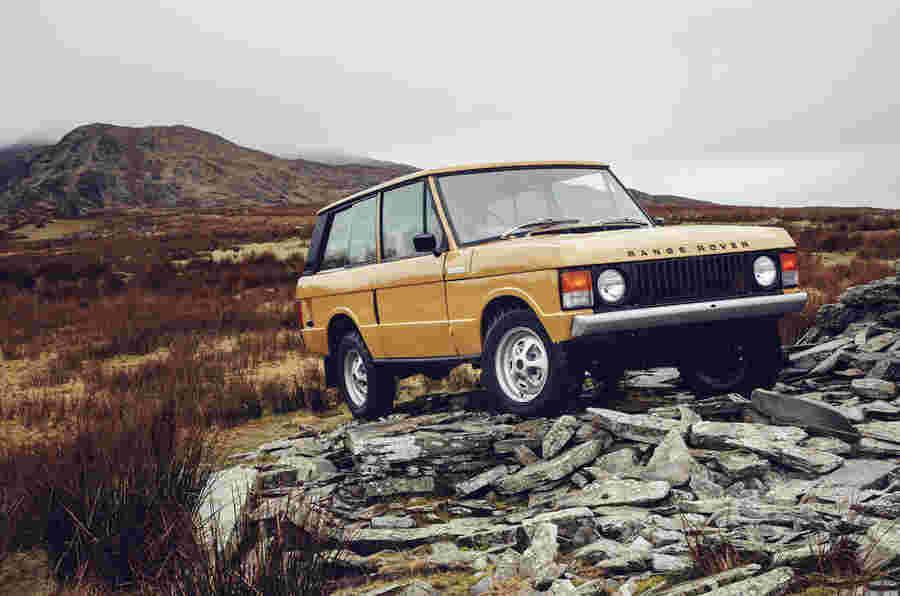 1978年双门范围罗孚作为第一个重生经典模型