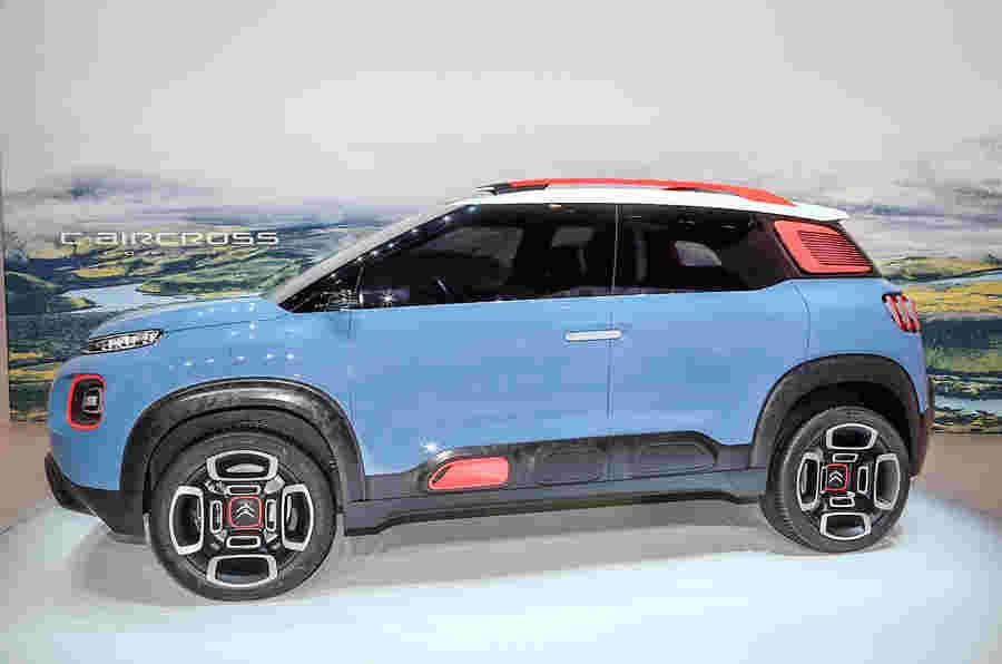 雪铁龙C-Aircrocs概念预览未来日产Juke竞争对手