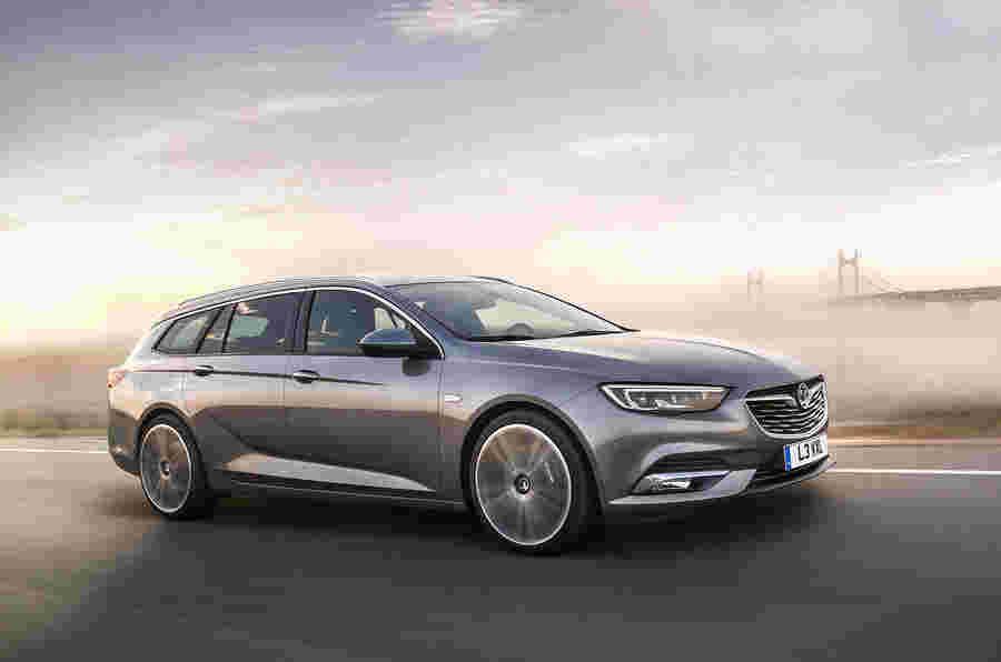 2017 Vauxhall Insignia炫耀旅游 - 第一张图片揭晓