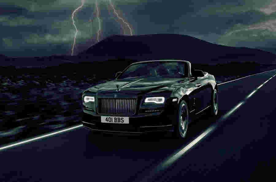 Rolls-Royce推出593BHP黎明黑徽章特别版