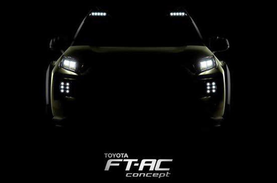 Toyota FT-AC概念在La Motor展会上透露