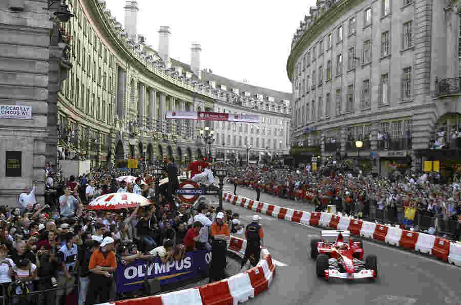伦敦将在英国大奖赛之前主持'F1 Live'活动