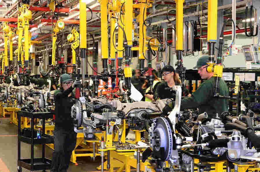 英国汽车中44%的零件来自国内供应商