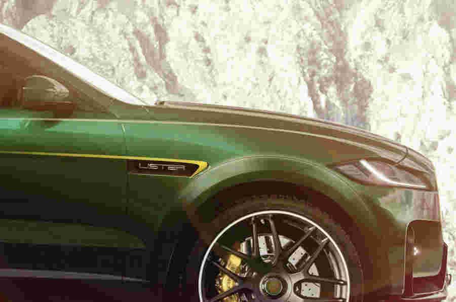 Lister LFP名称已确认重新加工F-Pace SVR Super-SUV