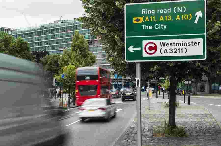 伦敦街道成为第一张零排放区
