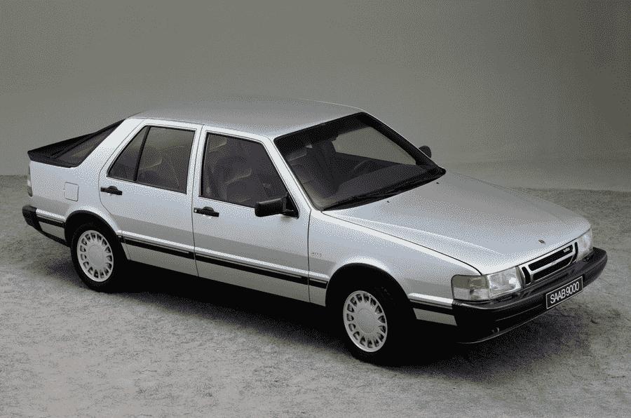 星期四回落:暂停1984 Saab 9000的奇观