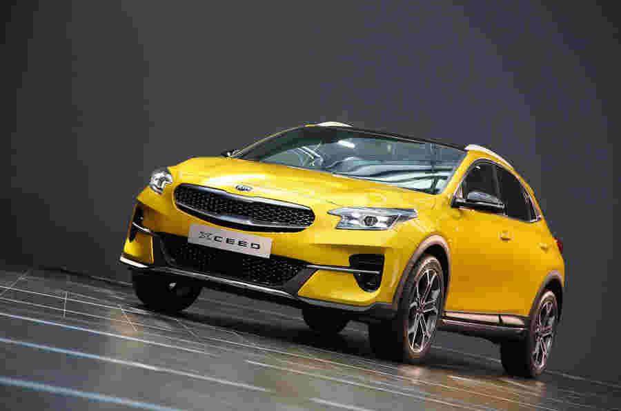 新的Kia Xceed Crossover:英国价格和规格宣布