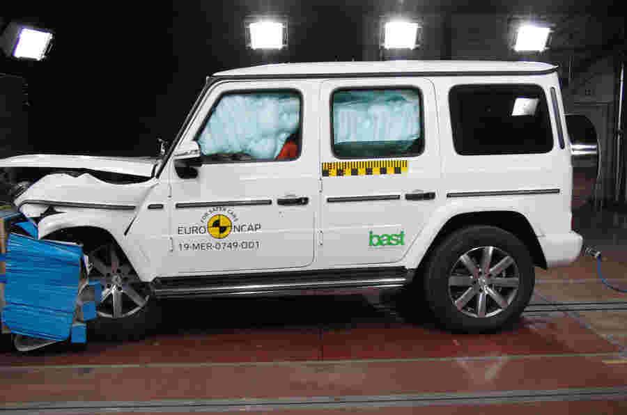 梅赛德斯 - 奔驰G级,Seat Tarraco,本田CR-V明星在碰撞试验中