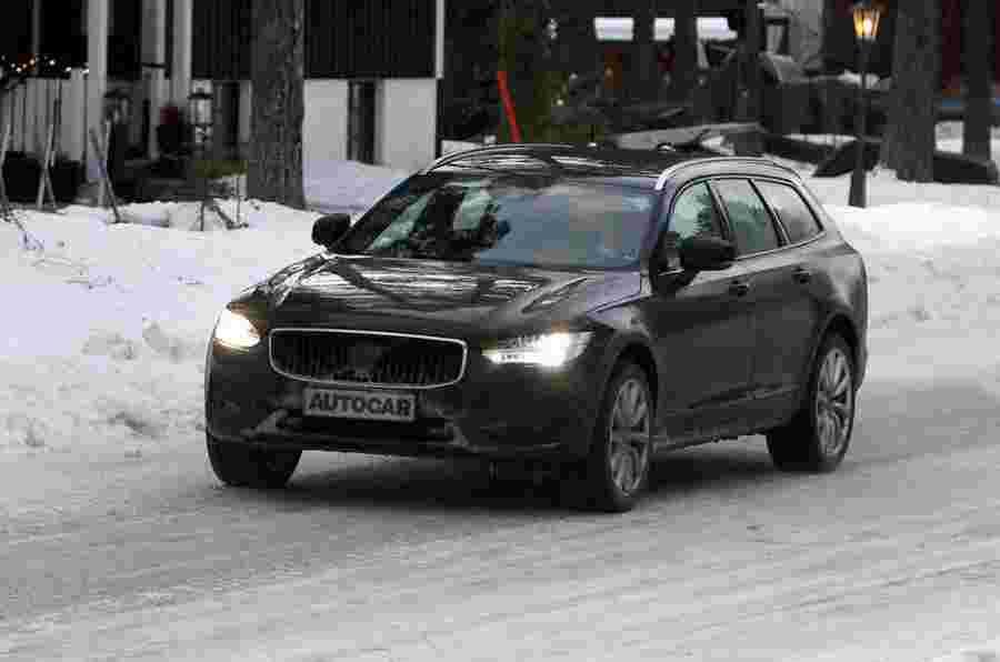 Volvo V90和S90范围更新Mild-Hybrid Tech