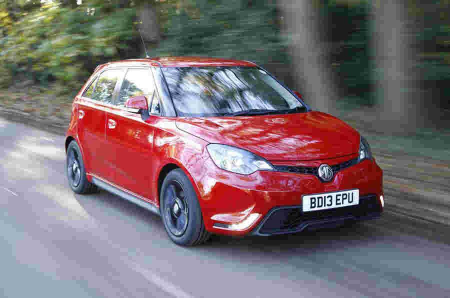 MG推出MG 3预算赛车