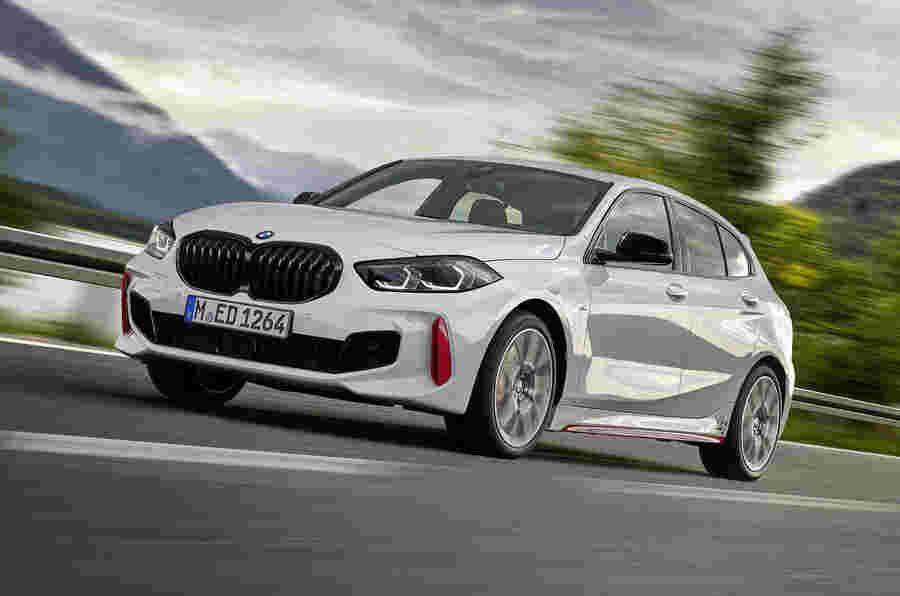 BMW枪为高尔夫GTI,新的261bhp 128ti热舱口
